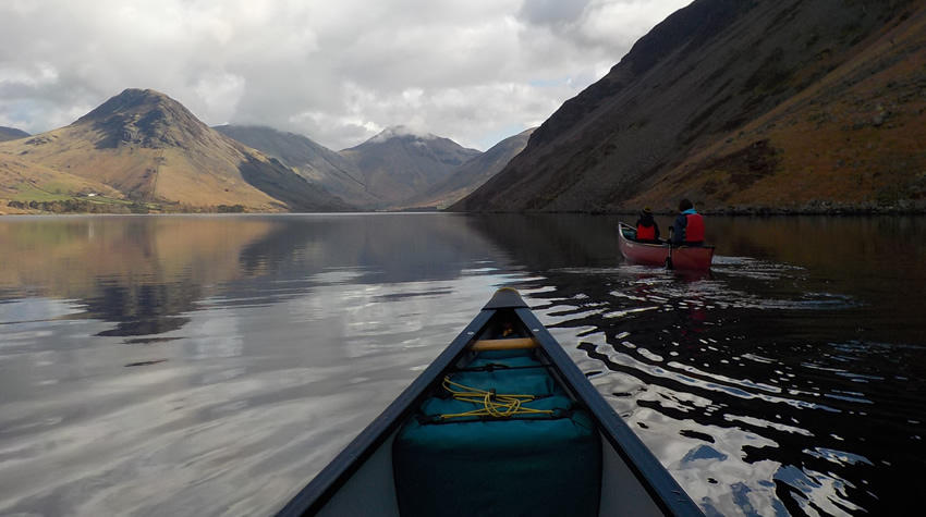 Canoe Journey on Wastwater